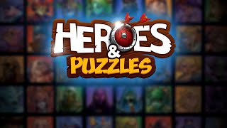 Heroes and Puzzles - Android Gameplay HD