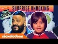Ryan ToysReview's Unboxing Surprise w/ DJ Khaled at 2019 Kids' Choice Awards