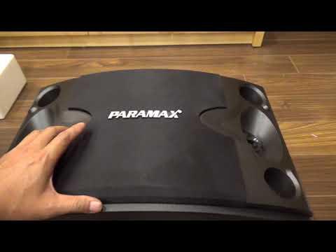 Hướng dẫn bạn lắp đặt và sử dụng bộ karaoke paramax - Cách lấy tiếng từ điện thoại ra loa