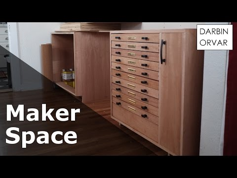 Cabinet w/ Dovetail & Secret Drawers - #MakerSpace Part 3