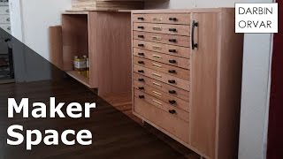 Cabinet w/ Dovetail & Secret Drawers - #MakerSpace Part 3 thumbnail