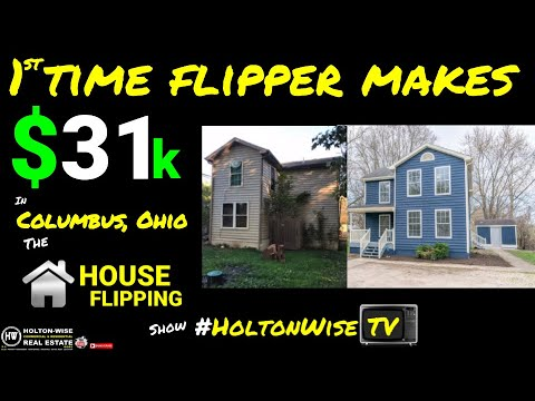 1st Time Flip In Columbus Ohio - The House Flipping Show 3