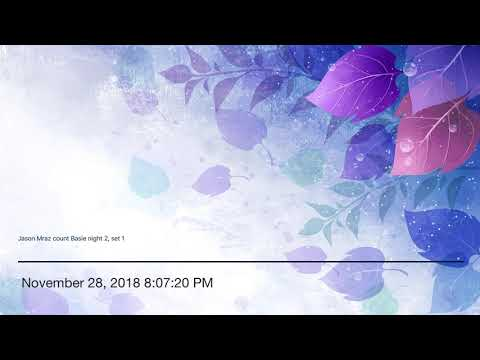Gregory Page & Jason Mraz - Green Lights and Blue Skies (11/28/18) Mp3