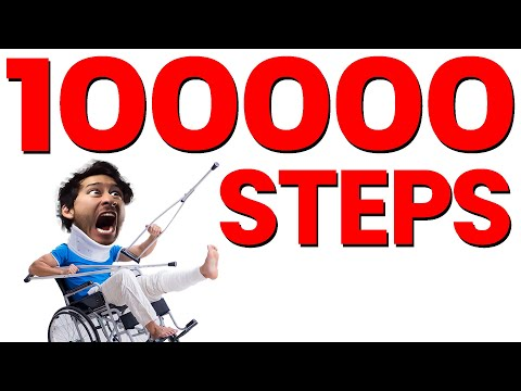 THIS CHALLENGE BROKE ME: 100000 Steps in a Single Day
