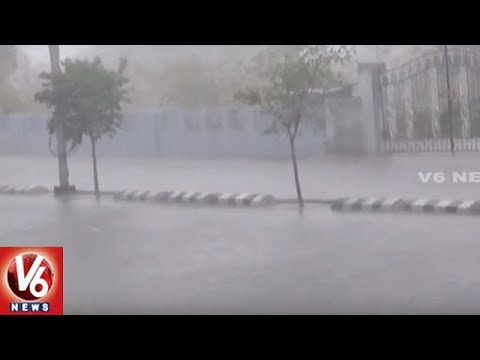 Heavy Rains To Hit Telangana For Next 3 Days | Weather Report | V6 News