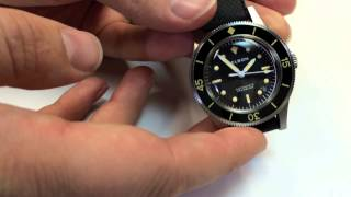 Helson Skin Diver Watch Review - Fifty Fathoms Homage