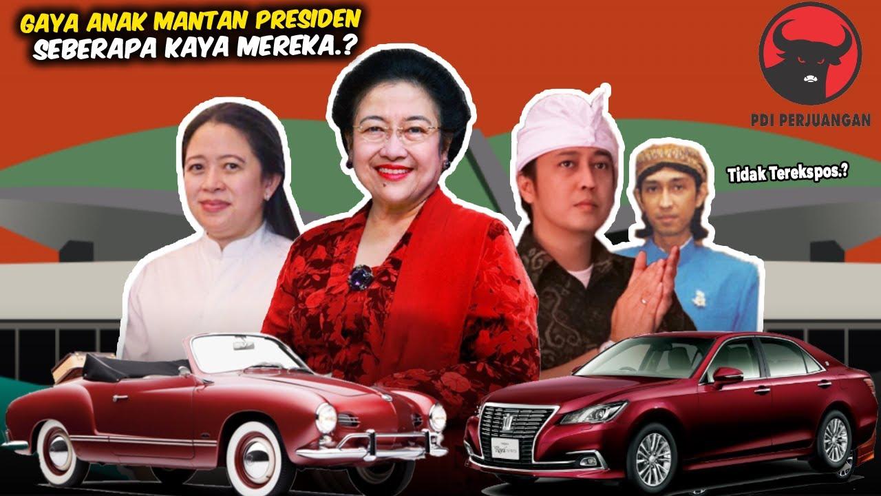 Dijuluki Ibu Wong Cilik! Ternyata Begini Kekayaan Anak Megawati dan Koleksi Mobil Mewah Dimilikinya