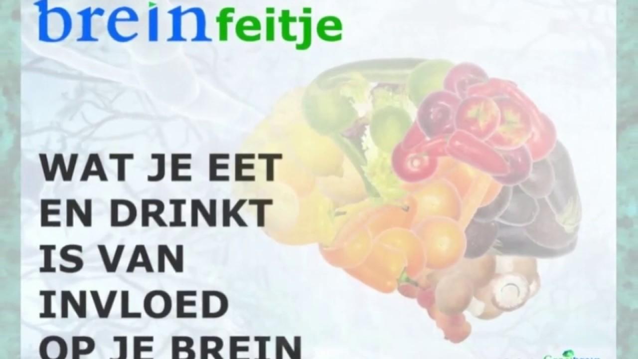 Eten is van invloed op je hersenen. Een groeimindset wordt ...