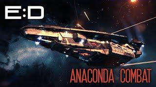 Elite: Dangerous - First Combat in Anaconda (Stream Highlight)