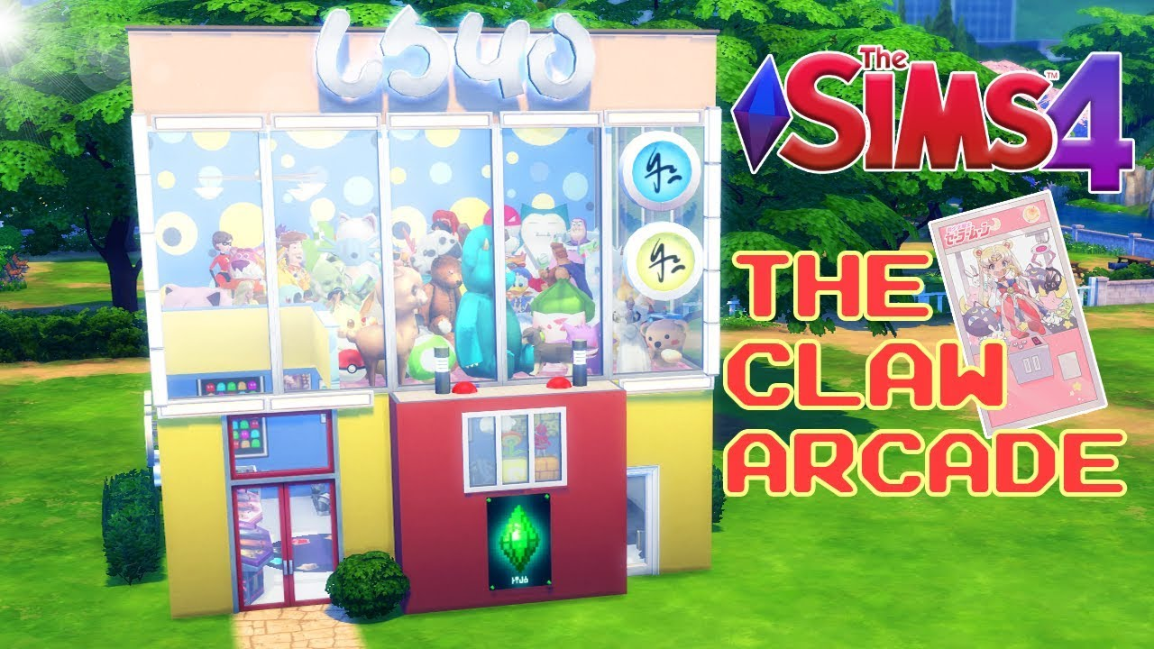 THE SIMS 4- THE CLAW (ARCADE)|SPEED BUILD