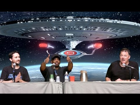 Star Trek: The Next Generation Panel w Wil Wheaton, LeVar Burton, & Jonathan Frakes