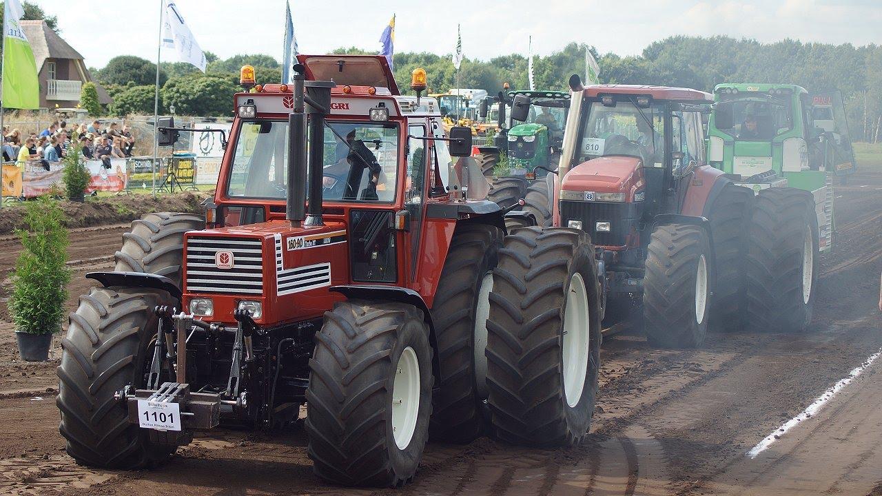 Big Tires Horsepower Duo Slep And Lot Of Smoke Tractorpulling Big Time Trekkerweb