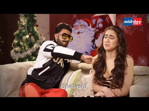 Why Does Ranveer Singh Keep Hitting Sara Ali Khan? | Simmba Movie Interview