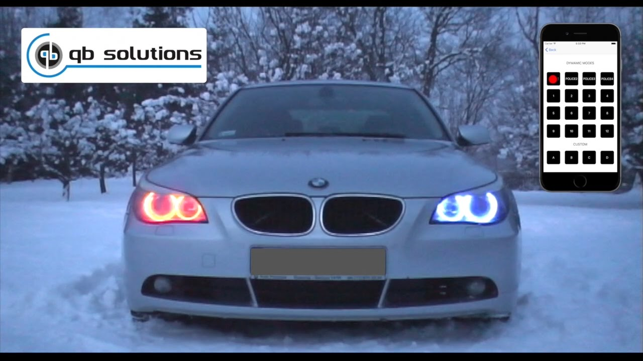 Bmw color changing angel eyes-1022