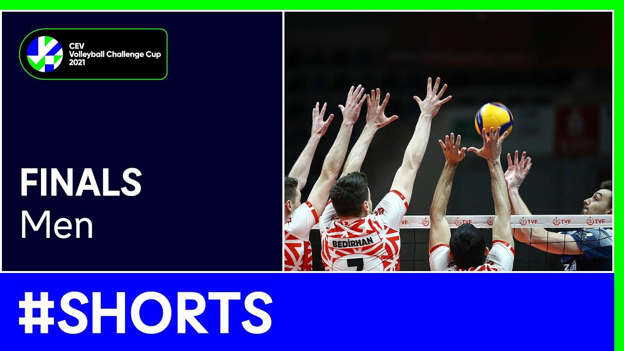 Ziraat Bankasi SK ANKARA vs. Allianz Powervolley MILANO #Shorts - #CEVChallengeCupM