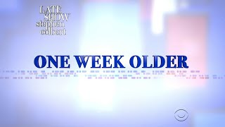 One Week Older, A Week With