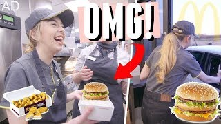 I CANT BELIEVE I GOT TO DO THIS! WORKING AT MCDONALD