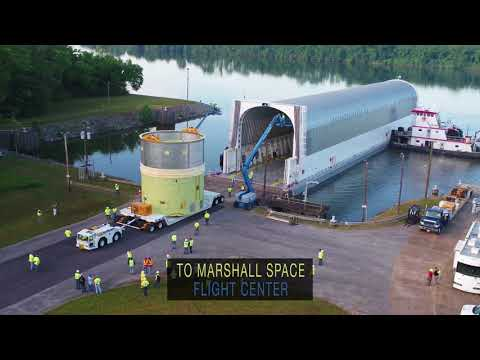 SLS Core Stage Engine Section Aces Testing