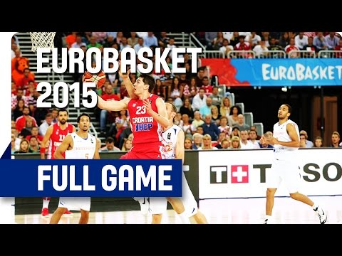 Netherlands v Croatia - Group C -  Live Stream - Eurobasket 2015