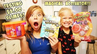 Testing Our No Budget Store Bought Slime