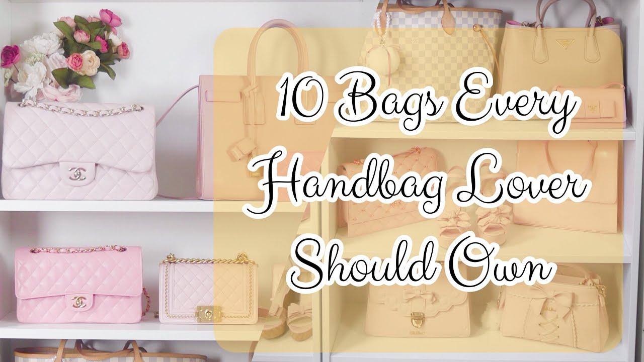ba39ebda400a ♡ 10 BAGS EVERY HANDBAG LOVER SHOULD OWN