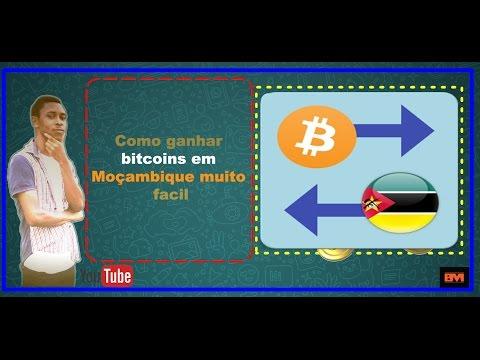 Como ganhar bitcoins em Moçambique  muito facil