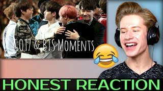 HONEST REACTION to BTS & GOT7 ♥ #1