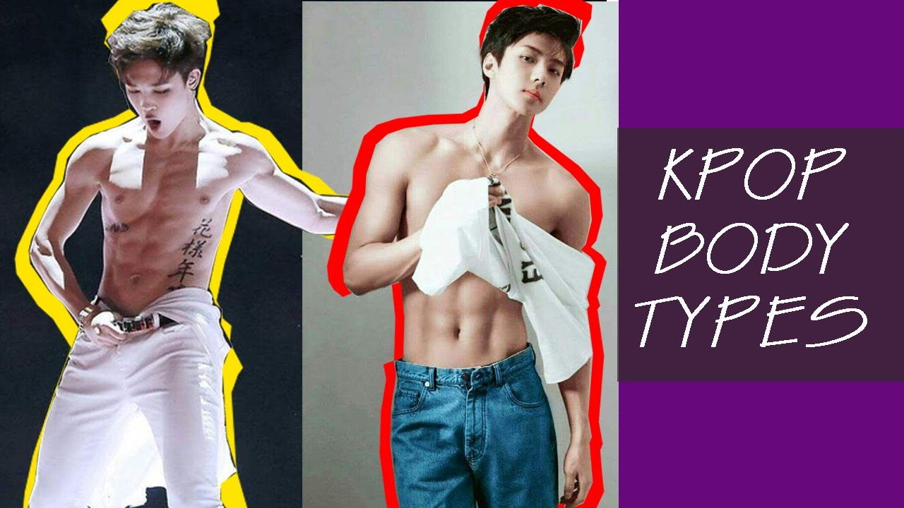 Body Types In Kpop What You Usually Don T See Youtube