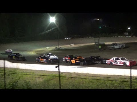 4 cylinder Feature at Mt. Pleasant Speedway, Michigan on 07-12-2019!!
