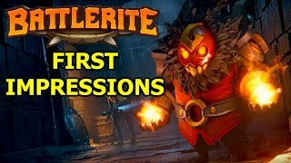 Battlerite MOBA First Impressions - Bloodline Champions 2.0 (Battlerite Taya Gameplay)