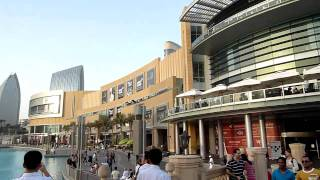 Downtown Dubai UAE (The Address Hotel, Dubai Mall, Burj Khalifa) HD