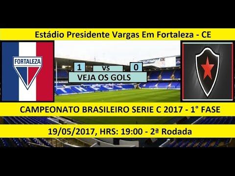 CAMPEONATO BRASILEIRO SERIE C 2017 FORTALEZA-CE 1 x 0 BOTAFOGO-PB