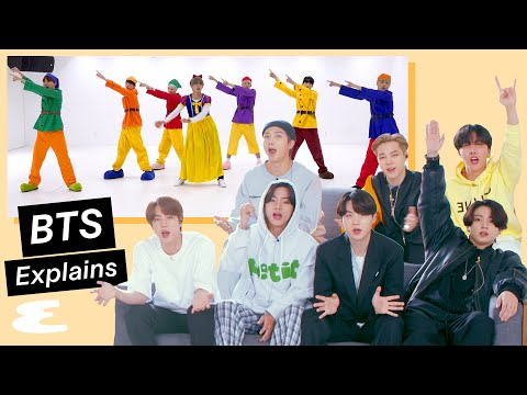 BTS Reacts to BTS on the Internet (방탄소년단) | Explain This | Esquire