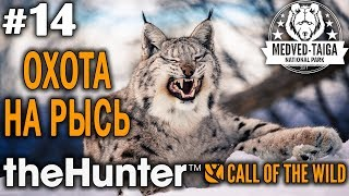 theHunter call of the wild #14 🔫 - Охота На Рысь - Револьвер, Арбалет - Рысь, Кабан, Кабарга
