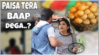Eating Girls Panipuri Pr@nk Gone Epic   Nil&Situ Vlogs