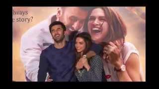 'Tamasha' 2015 Movie Trailer Launch by Ranbir,Deepika Imtiaz Part 5