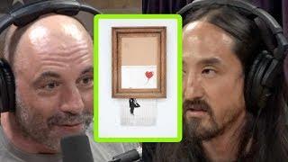 Steve Aoki Is Skeptical About Banksy's Self-Destructing Art