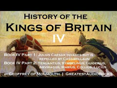 HISTORY OF THE KINGS OF BRITAIN Book IV - FULL AudioBook   GreatestAudioBooks