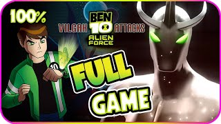 Ben 10 Alien Force: Vilgax Attacks Walkthrough 100% FULL GAME Longplay (X360, Wii, PS2, PSP)