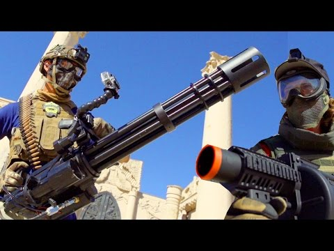Team Fortress 2 Airsoft Minigun Rampage