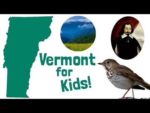 Vermont for Kids | US States Learning Video