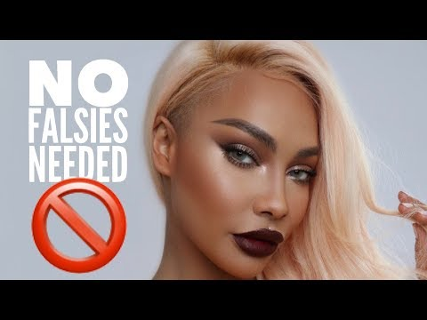 NO FALSIES DATE NIGHT GLAM | SONJDRADELUXE