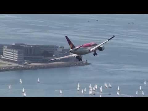 Arremetidas AVIANCA e GOL Falham Aterragem Aeroporto Santos Dumont aborted landings