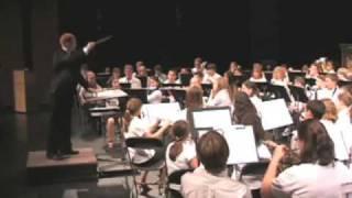 """Stuart Potter conducting """"Fire Dance"""" by Doug Akey"""