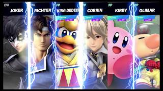 Super Smash Bros Ultimate Amiibo Fights   Request #7818 Multi ending fighters