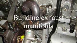 BMW 850 turbo build