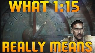 BO3 Zombies - Why 1:15 is the Start of The Time Warp! (CoD BO3 Zombies)