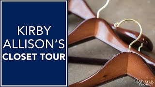 Kirby Allison's Closet Tour