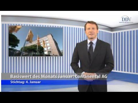 Beliebte Basiswerte von Zertifikaten: Continental AG
