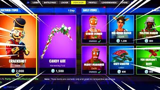 SEASON 7 ITEM SHOP 11 décembre - CHRISTMAS SKINS! (Fortnite Battle Royale)